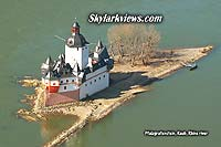 Fortress in the Rhine river